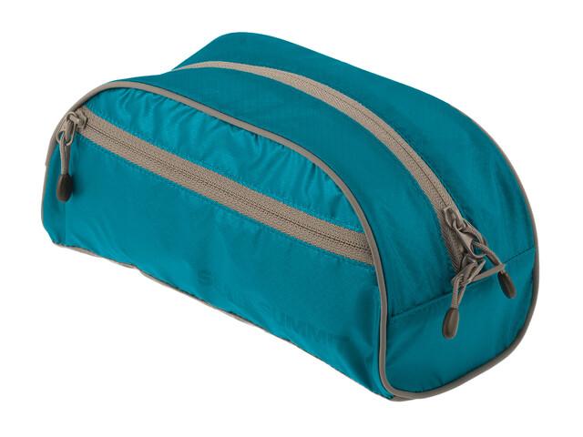 Sea to Summit Toiletry Bag - Accessoire de rangement - Small Bleu pétrole